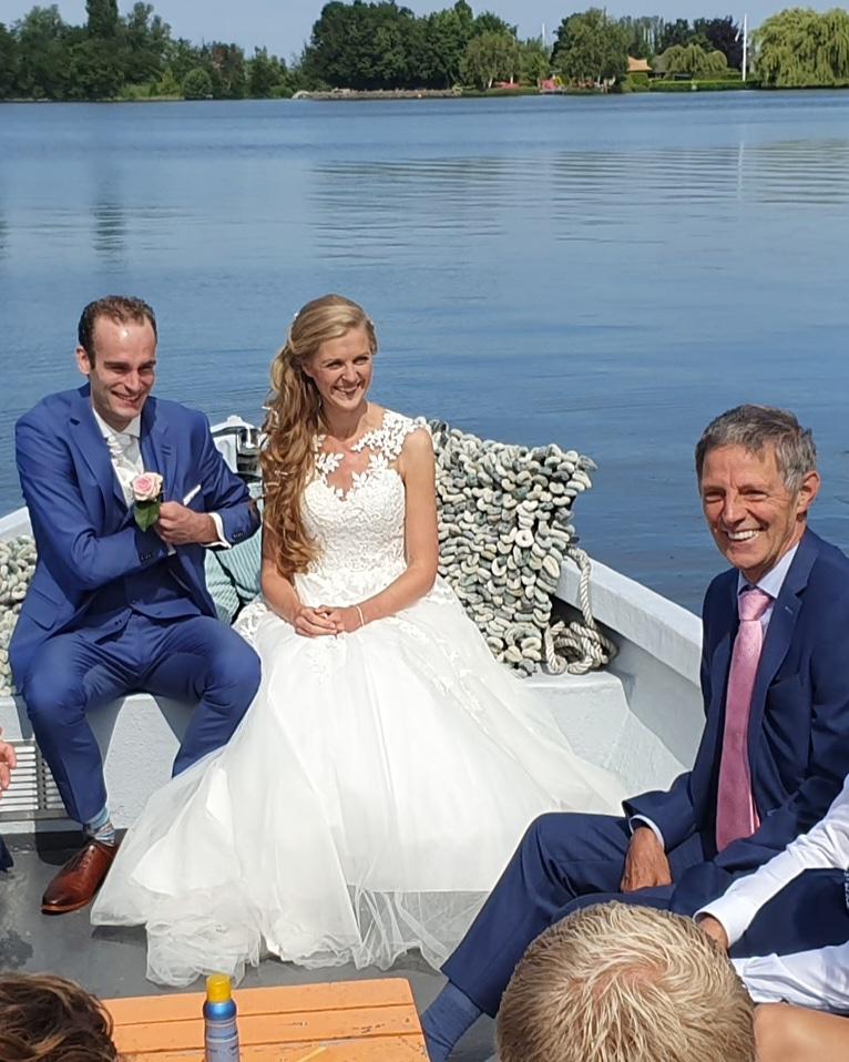trouwen op het water